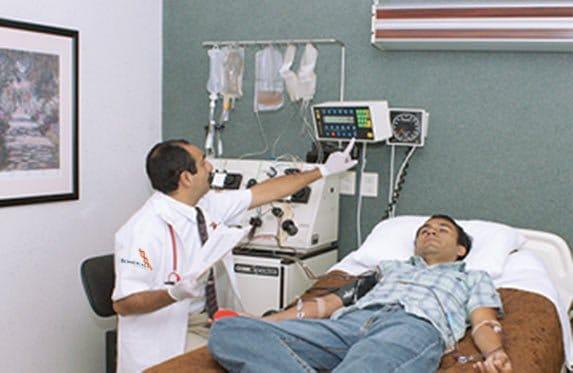 Inmunoadsorción: Depuración de la Sangre