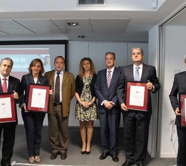 Accenture, Asepeyo, FCC y Mahou reciben los primeros certificados AENOR de Empresa Saludable
