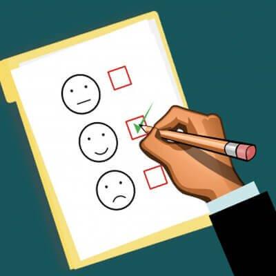 satisfación prueba  Expert courses Satisfacion