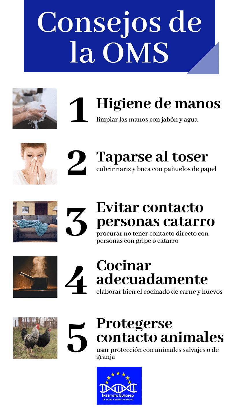 Coronavirus - Consejos de la OMS coronavirus Coronavirus en España Consejos de la OMS