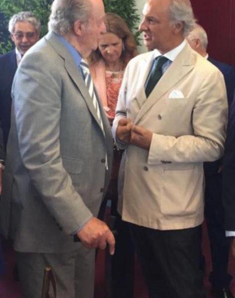 Manuel de la Peña y Rey Juan Carlos I