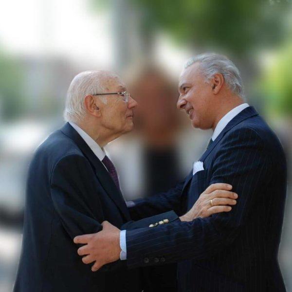 Manuel de la Peña y Bernard Lown