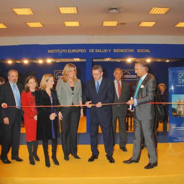 Inauguración - Instituto Europeo de Salud y Bienestar Social - Manuel de la Peña