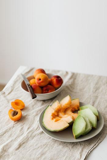 verano y dieta saludable